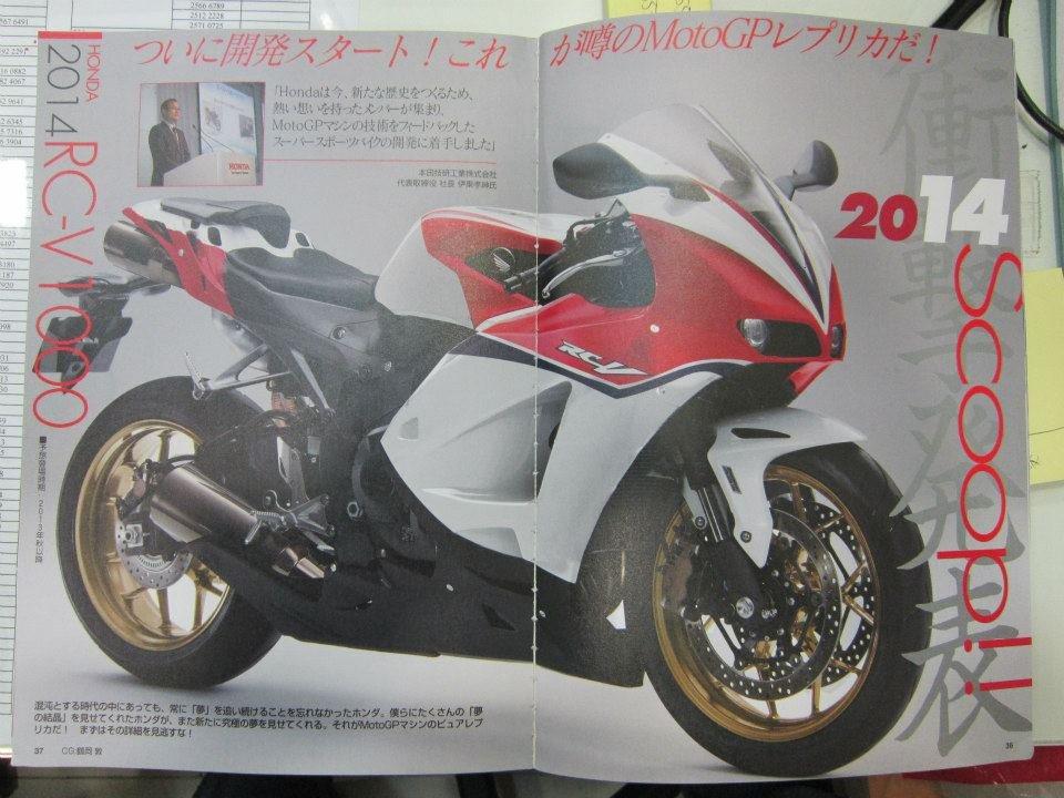 2014 Honda CBR 1000
