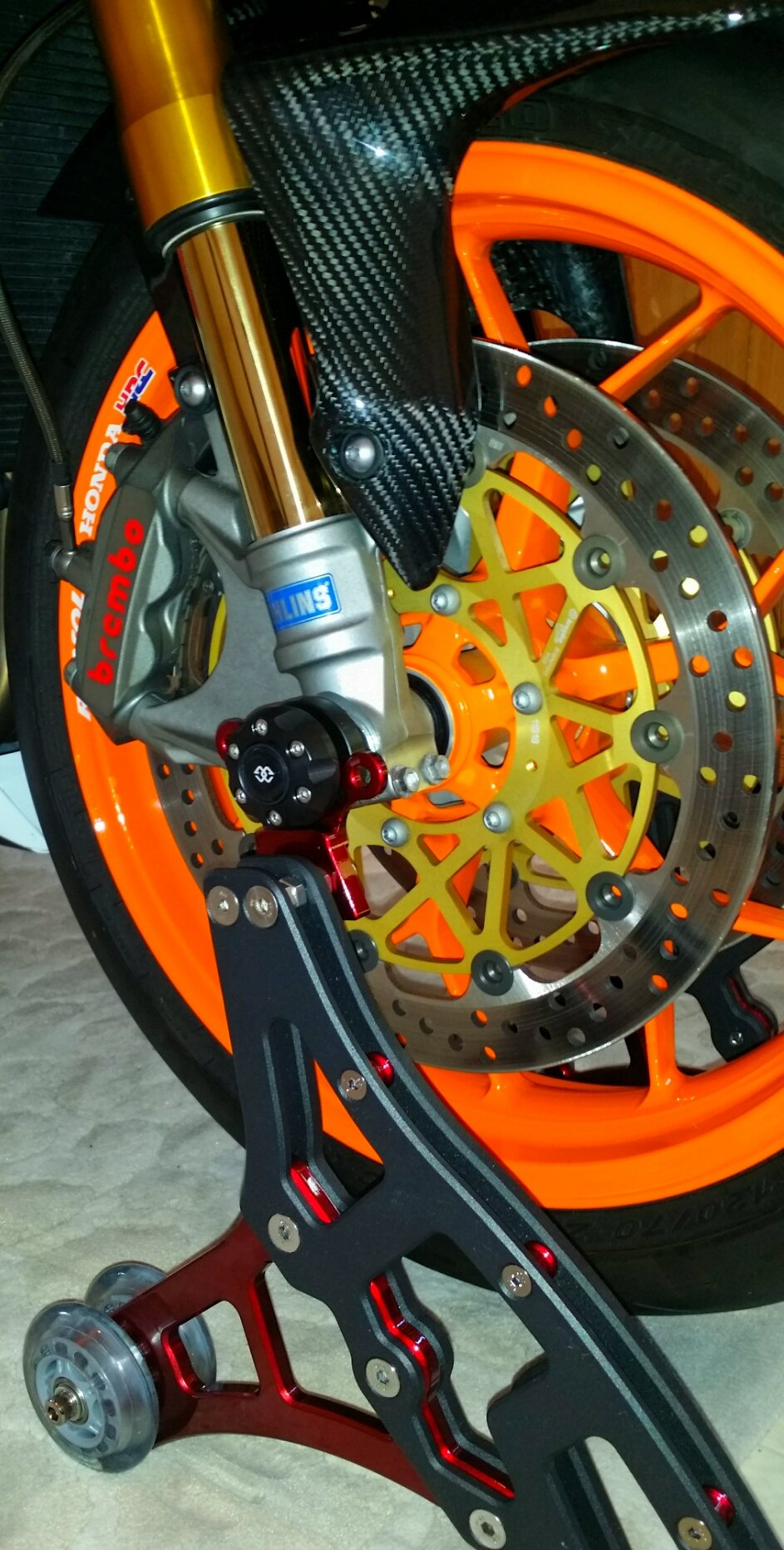 Galfer Wave Rear Brake Disc For Honda 2006 CBR1000RR-6 Fireblade
